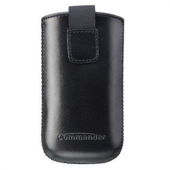 Commander Elegance DeLuxe Case SL Leather Black