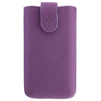 Commander Elegance DeLuxe Case XXL Nubuck Purple