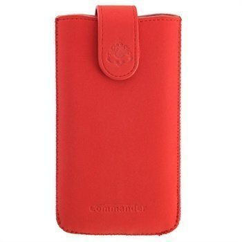 Commander Elegance DeLuxe Case XXL Nubuck Red