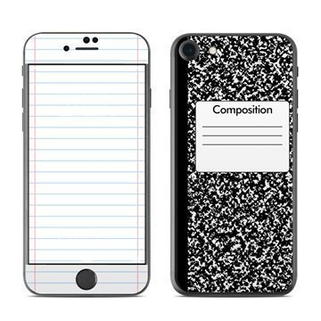 Composition Notebook iPhone 7 Skin