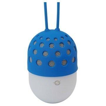 Conceptronic Vedenpitävä LED-valaistu Bluetooth Kaiutin Sininen