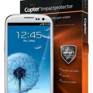 Copter for Galaxy S3 ScreenProtection Impact