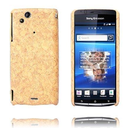Cork Vaaleanruskea Sony Ericsson Xperia Arc Suojakuori