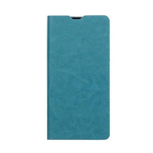 Crazy Horse Leather Card Holder Case For Microsoft Lumia 650 Sininen