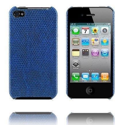 Croco Sininen Iphone 4 Suojakuori