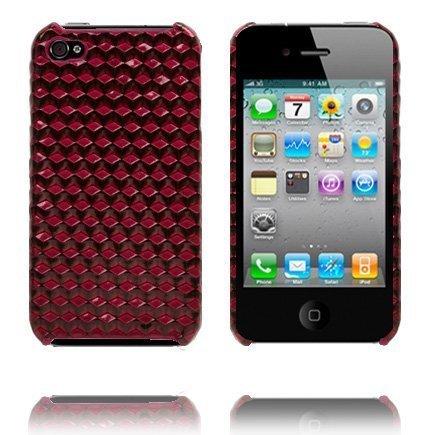 Cubic I4 Punainen Iphone 4 Suojakuori