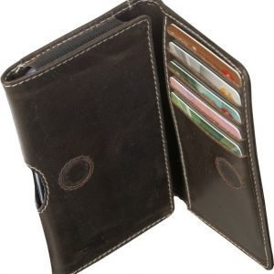 "D.Bramante Leather Wallet Closed 4,8"" Hunter Dark"