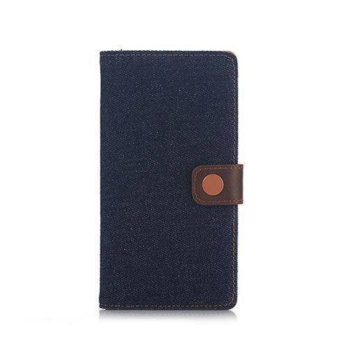 Dahle Sony Xperia Z5 Premium Nahkakotelo Tumma Sininen