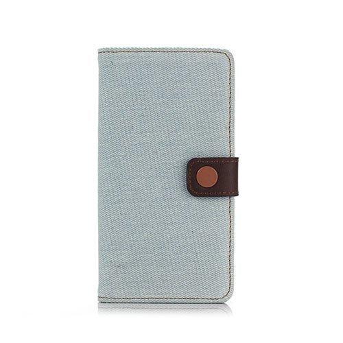 Dahle Sony Xperia Z5 Premium Nahkakotelo Vaalea Sininen
