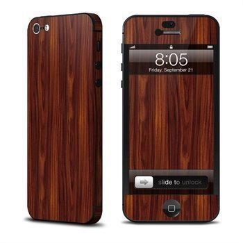 Dark Rosewood iPhone 5 Skin