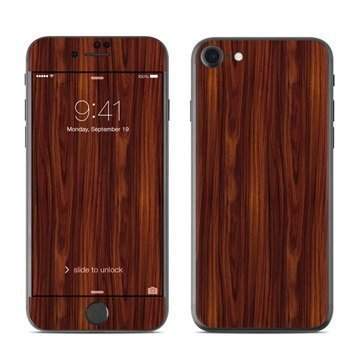 Dark Rosewood iPhone 7 Skin