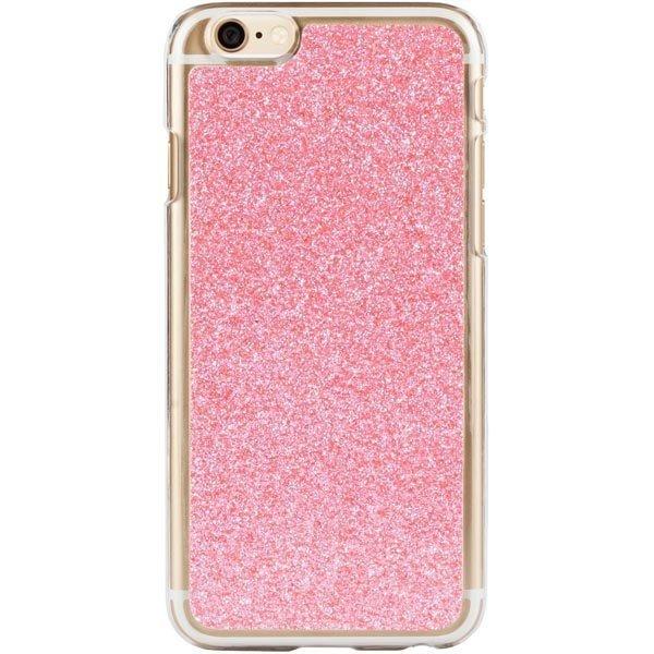 Deal HardCover+ Glitter Pink kimmeltävä iPhone 6 kovamuovikuori