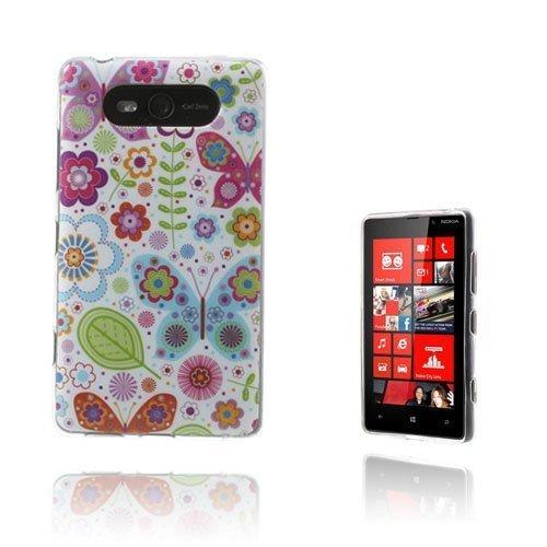 Deco Kukat Nokia Lumia 820 Suojakuori