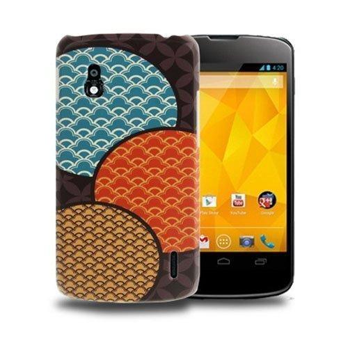 Deco Musta Pallot Lg Google Nexus 4 Suojakuori