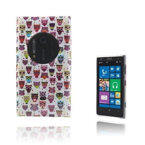 Deco Pöllöt Nokia Lumia 1020 Suojakuori