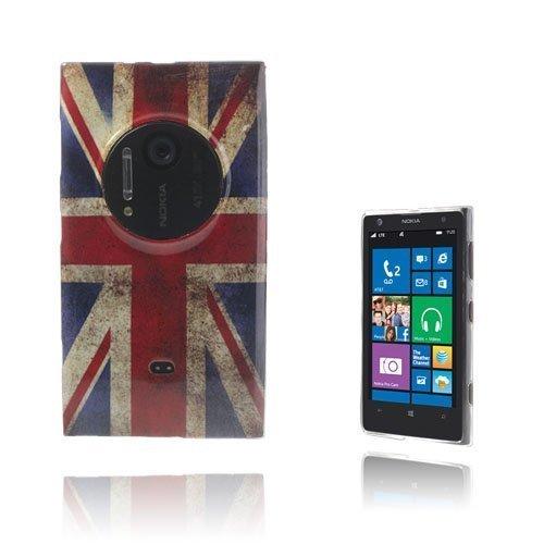 Deco Uk-Lippu Nokia Lumia 1020 Suojakuori