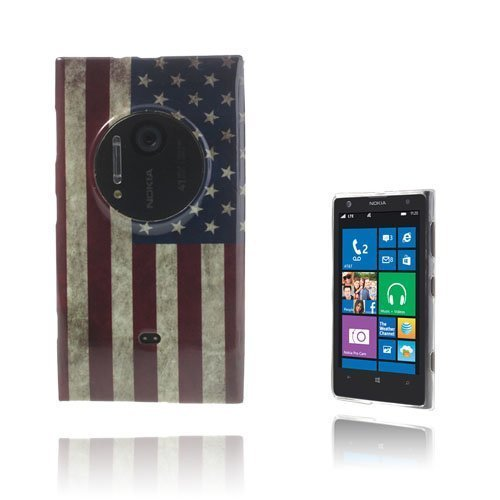 Deco Us-Lippu Nokia Lumia 1020 Suojakuori