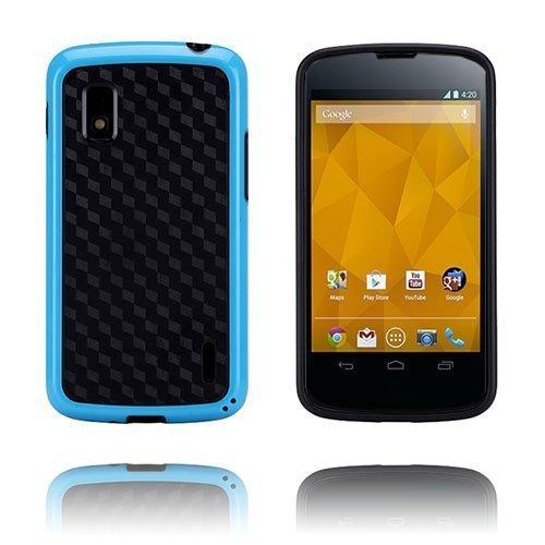 Delta Dark Sininen Lg Google Nexus 4 Suojakuori