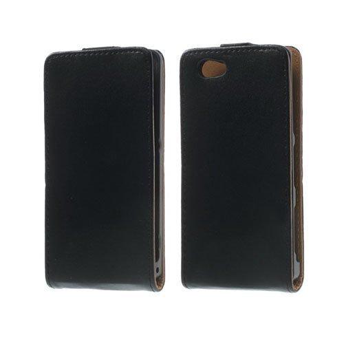 Delta Musta Sony Xperia Z1 Compact Nahkakotelo