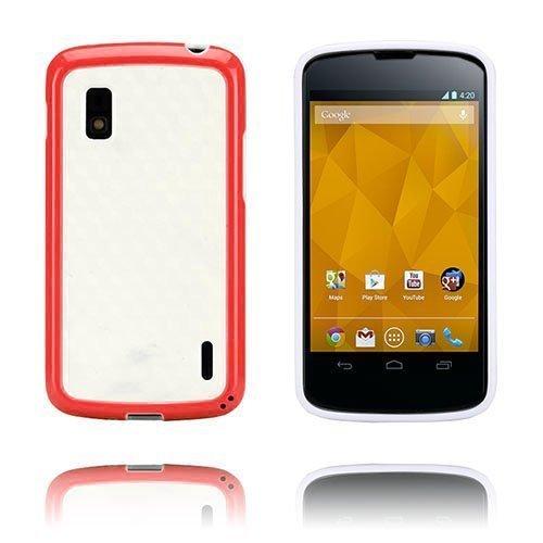 Delta Punainen Lg Google Nexus 4 Suojakuori