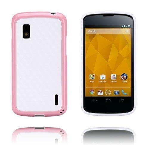 Delta Vaaleanpunainen Lg Google Nexus 4 Suojakuori