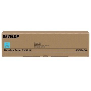 Develop TN321C Toner A33K4D0 Syaani