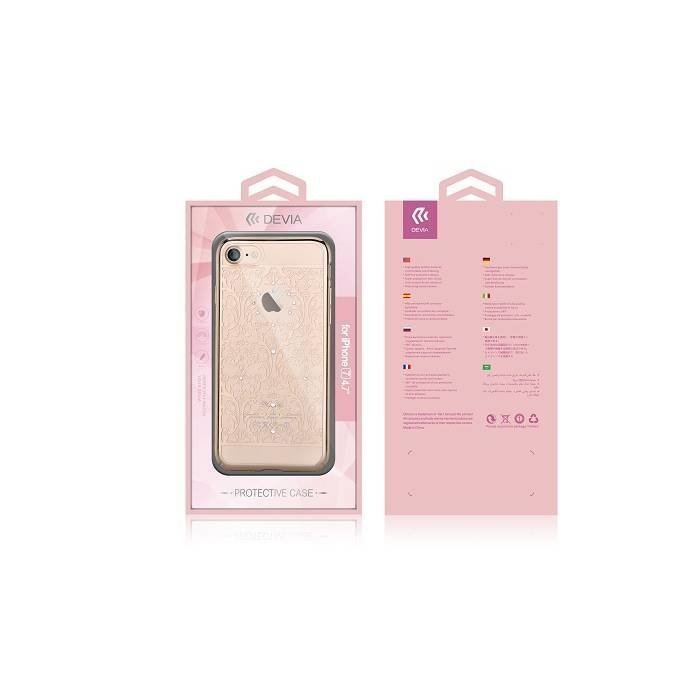 Devia Baroque iPhone 7 Rose Gold Suojakotelo