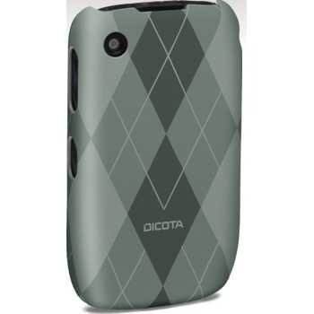 Dicota HardCover Blackberry Curve 8520 8530 Curve 3G 9300 9330 Grey