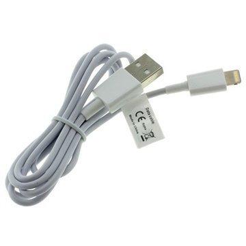 Digibuddy Lightning / USB Kaapeli iPhone 6 iPhone 6S Plus iPad Pro Valkoinen
