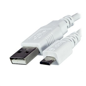 Dinic USB 2.0 / Micro USB Cable White 2m