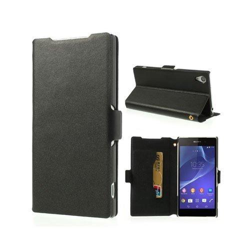 Diplomat Musta Sony Xperia Z2 Aito Nahkakotelo