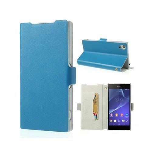Diplomat Sininen Sony Xperia Z2 Aito Nahkakotelo