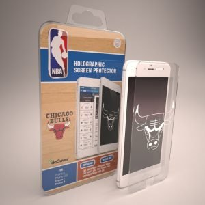 Docover Chicago Bulls Panssarilasi Iphone 6/6s/7/8