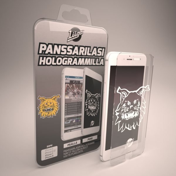 Docover Ilves Panssarilasi Iphone 6/6s/7/8