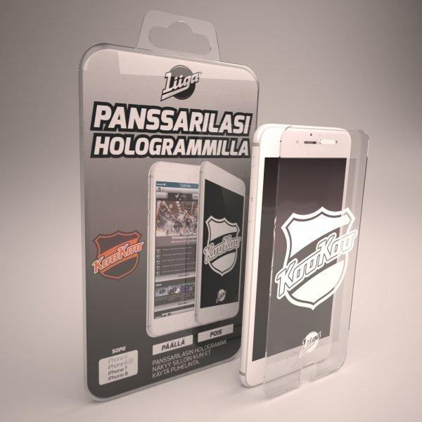Docover Kookoo Panssarilasi Iphone 6/6s/7/8