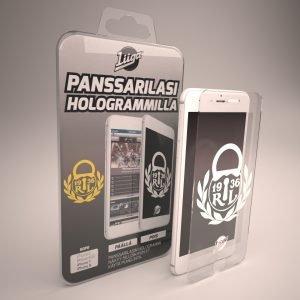 Docover Lukko Panssarilasi Iphone 6/6s/7/8