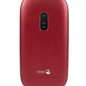 Doro 6031 Senioripuhelin Simpukkamallinen Punainen / Valkoinen