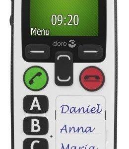 Doro Secure 580 Senioripuhelin Valkoinen