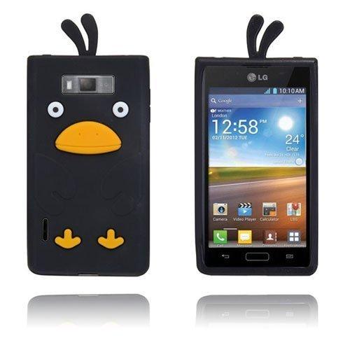 Duck Musta Lg Optimus L7 3d Suojakuori