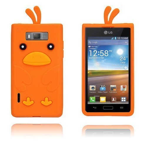 Duck Oranssi Lg Optimus L7 3d Suojakuori