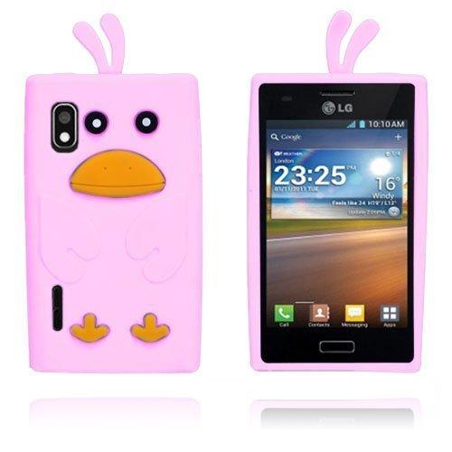 Duck Pinkki Lg Optimus L5 Suojakuori