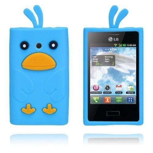 Duck Sininen Lg Optimus L3 3d Suojakuori