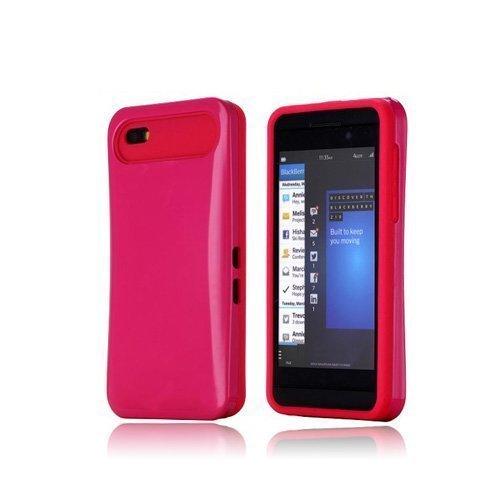 Duo-Safe Kuuma Pinkki Blackberry Z10 Suojakuori