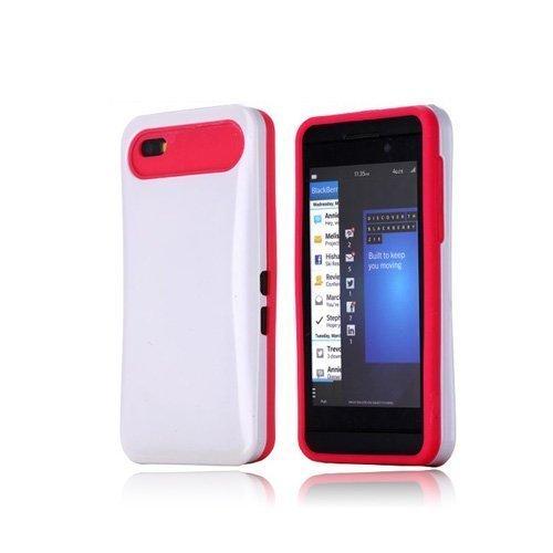Duo-Safe Valkoinen Blackberry Z10 Kotelo
