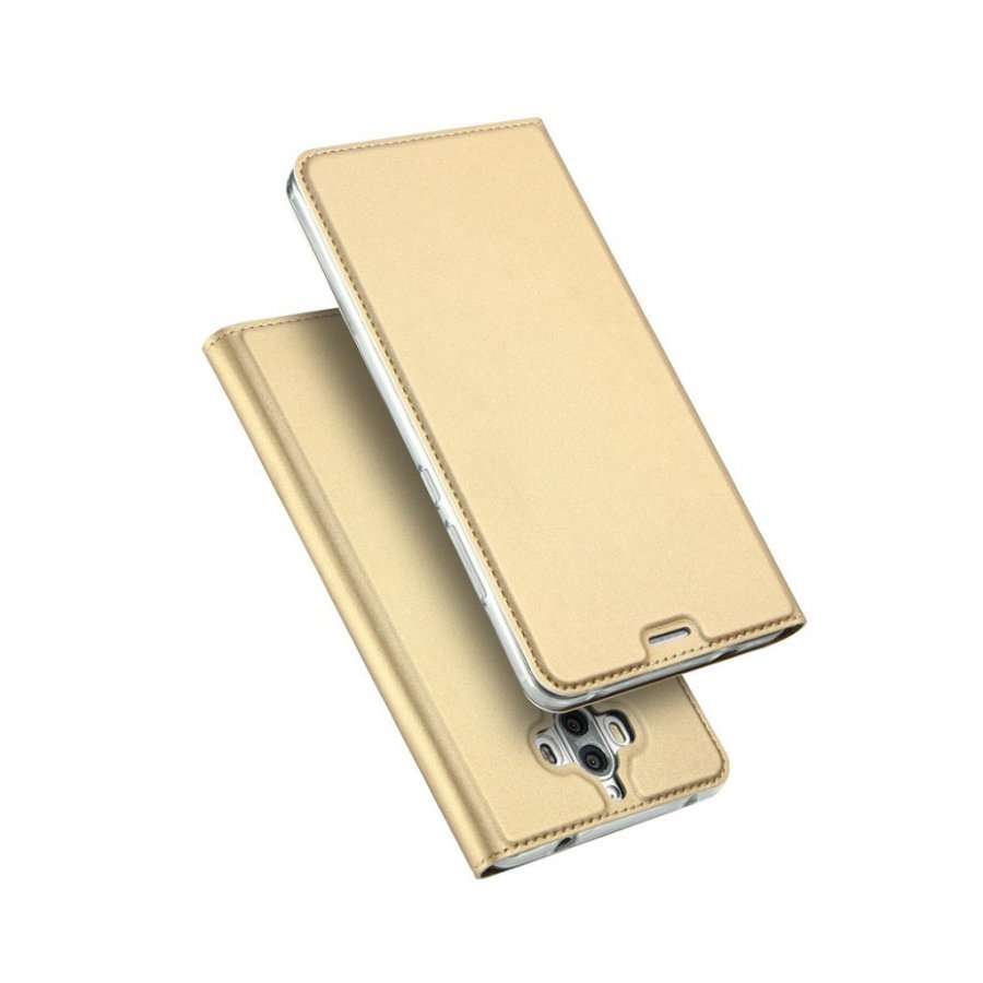 Dux Ducis Huawei Mate 9 Pro Sarjan Nahkakotelo Kulta