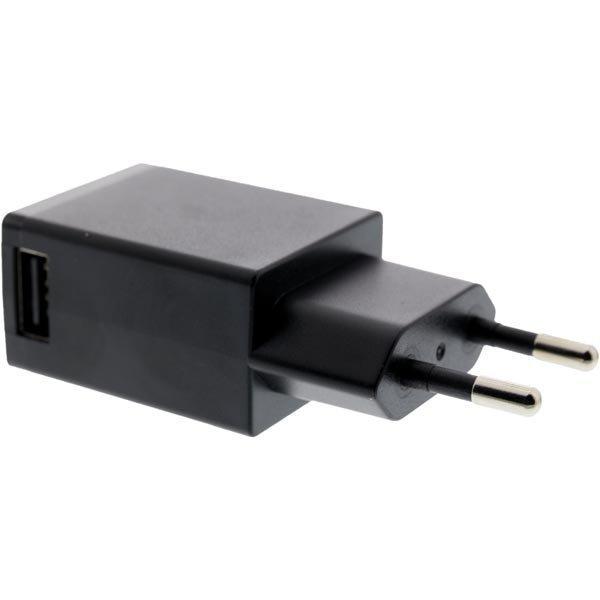 EPZI Seinälaturi 100-240V 5V USB 1A 1xUSB-portti valkoinen
