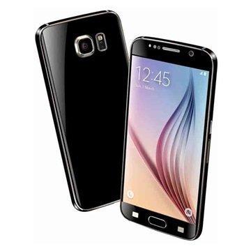EasySkinz Mattapintainen Kuori Samsung Galaxy S6 Musta