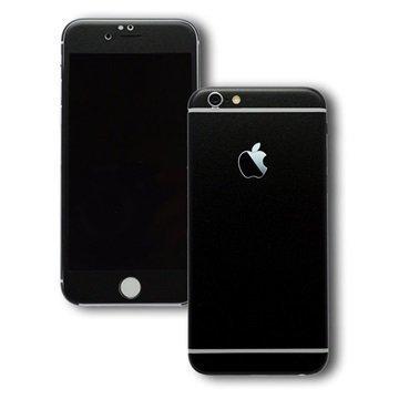 EasySkinz mattapintainen suojakuori iPhone 6S Mattamusta