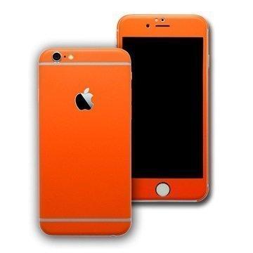 EasySkinz mattapintainen suojakuori iPhone 6S Oranssi