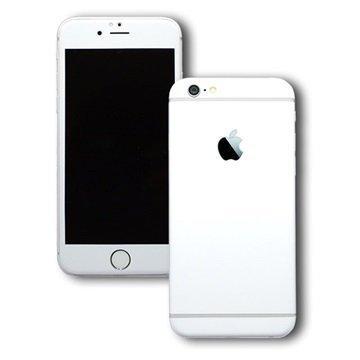 EasySkinz mattapintainen suojakuori iPhone 6S Valkoinen